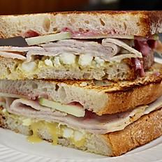 The Butler Blue Cheese Turkey Sandwich