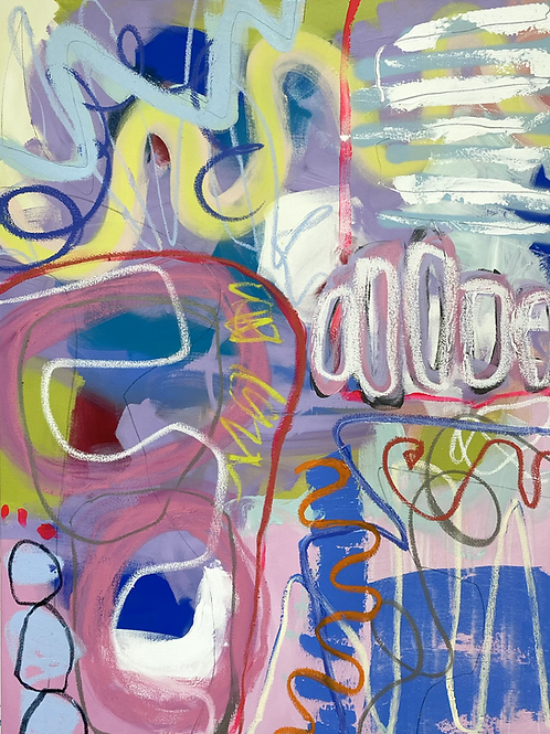 """what's in a name 48x36"""""""