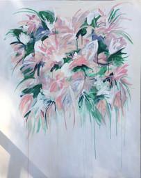 "60x48"" mixed media on canvas"