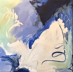 "36x36"" mixed media on canvas"