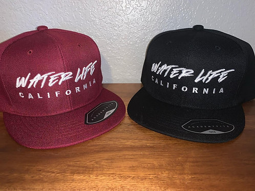 Water Life California 3-D Embroidered Snapback Hat