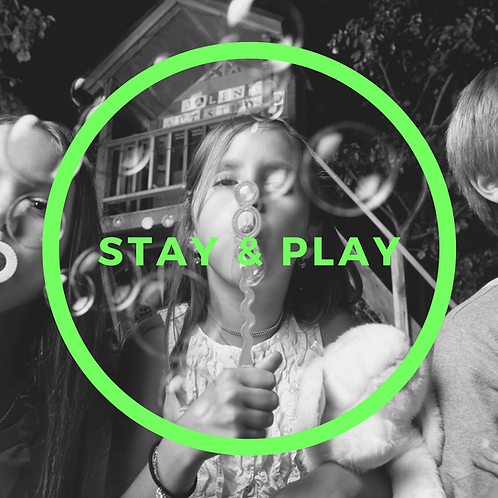 Stay & Play Year Pass - 31 Classes