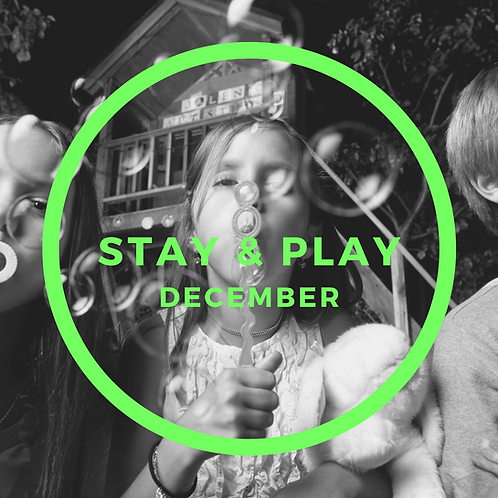 December Stay & Play - 3 Classes