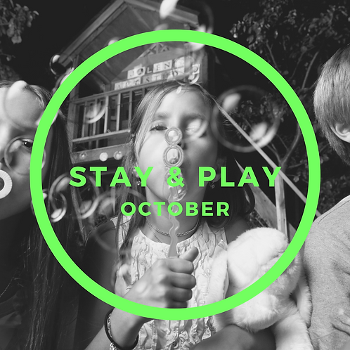 October Stay & Play - 4 Classes