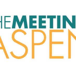 The Meeting Returns To Aspen Snowmass