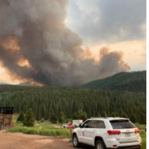 Sylvan Fire Doubles in SIze
