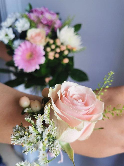 Le DUO / Juliette et son bouquet