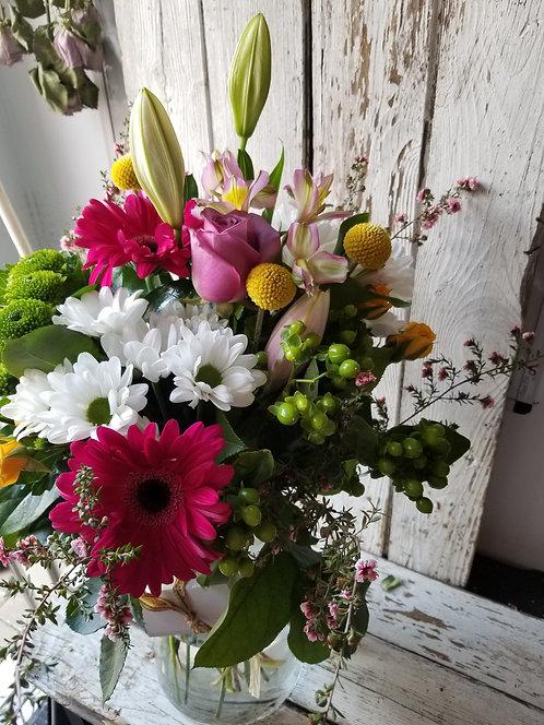 Bouquet Charlie (vase inclus)