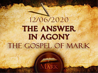 The Answer in Agony