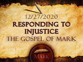Responding to Injustice