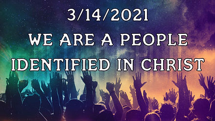 Identified in Christ