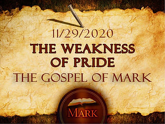 The Weakness of Pride