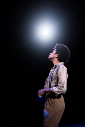 Bobby Strong in Urinetown at Western Michigan
