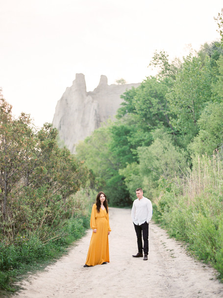 ENGAGEMENT AT THE BLUFFS