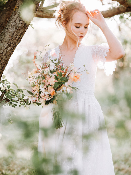 BRIDAL BY THE COUNTRYSIDE
