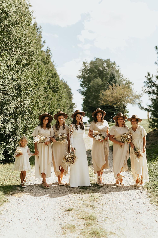 bride tribe, bridesmaid dresses, bridesmaid inspo, bridal party, wedding dresses, how to plan a wedding, wedding blog, wedding magazine, canadian weddings