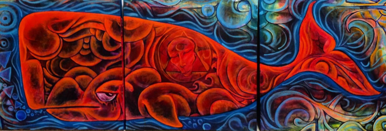 Orange Whale