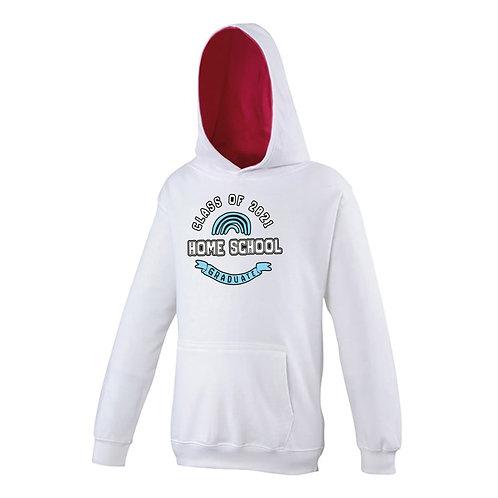 Unisex Kids Home School Leaver Hoodie