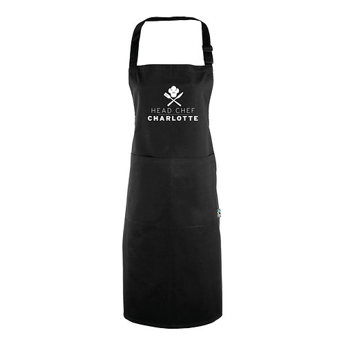 Personalised Head Chef Apron (with pocket)