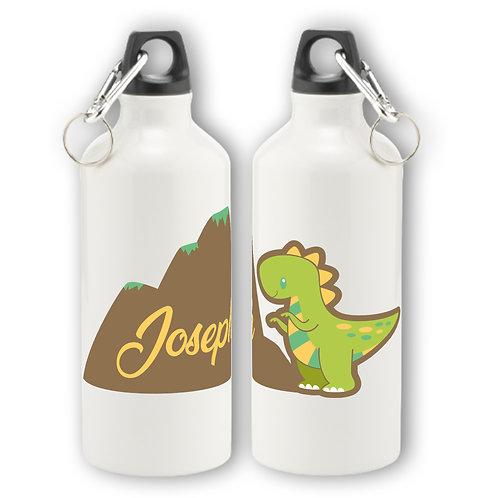 Personalised Dinosaur Aluminium Water Bottle