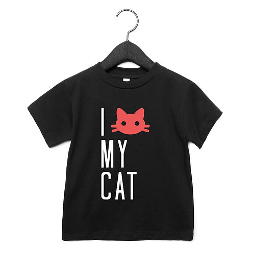 Love my Cat Toddler T-Shirt