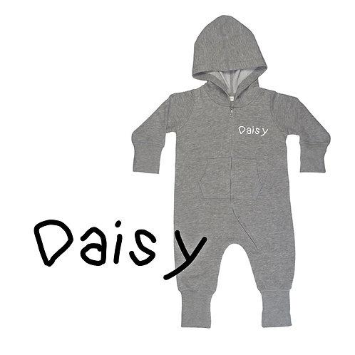 Personalised Name Baby Onesie