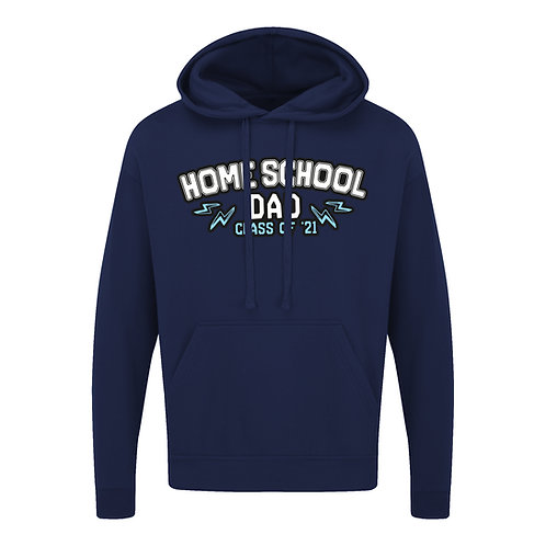Home School Dad 2021 Hoodie