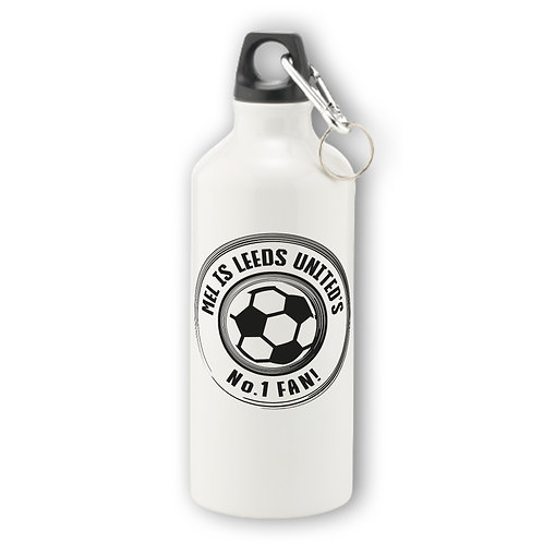 Personalised Football Aluminium Water Bottle