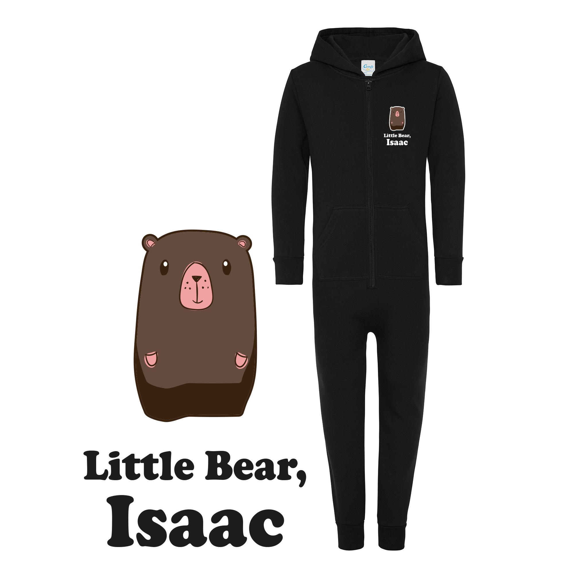 Personalised Little Bear Kids Onesie