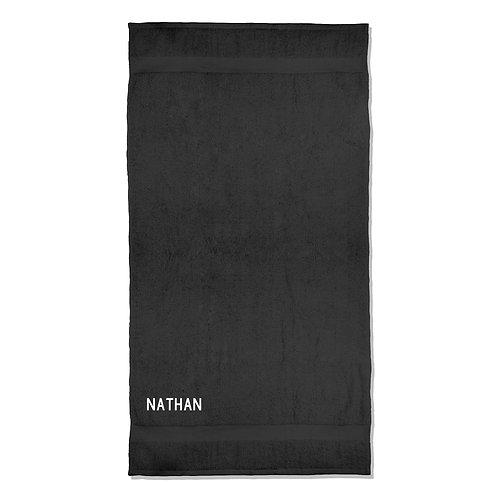 Personalised Name Bath Towel