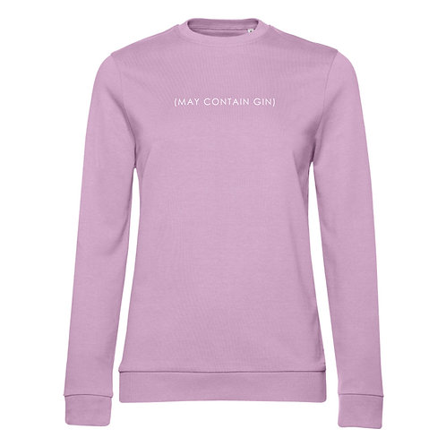 Ladies May Contain Gin Jumper