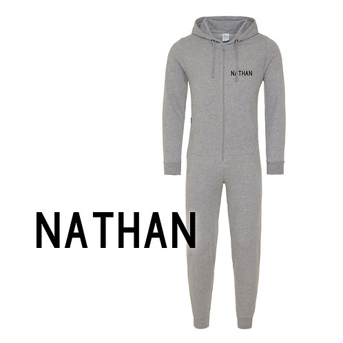 Personalised Name Adult Onesie