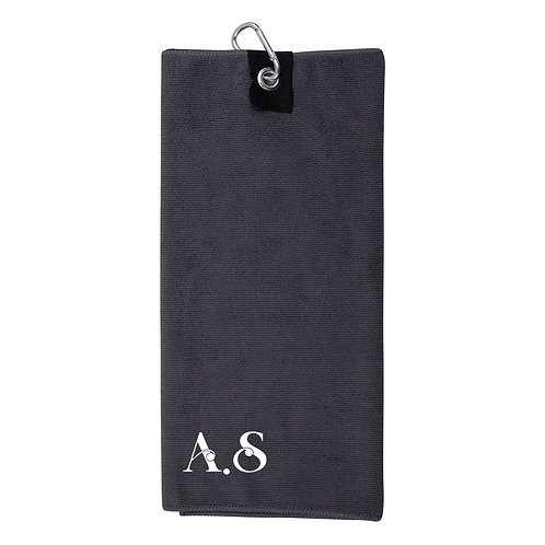 Personalised Initials Golf Towel