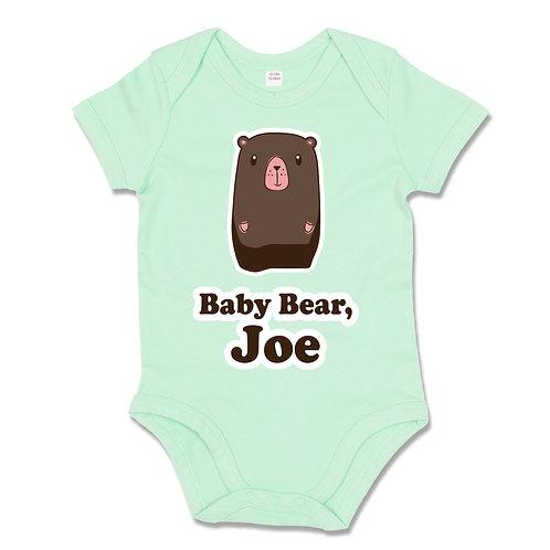 Personalised Baby Bear Babygrow