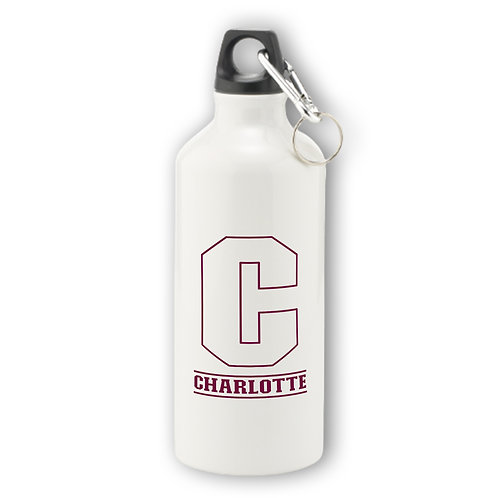 Personalised Initial Aluminium Water Bottle