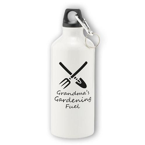 Personalised Gardening Aluminium Water Bottle