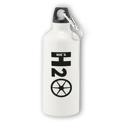 Personalised H2O Aluminium Water Bottle