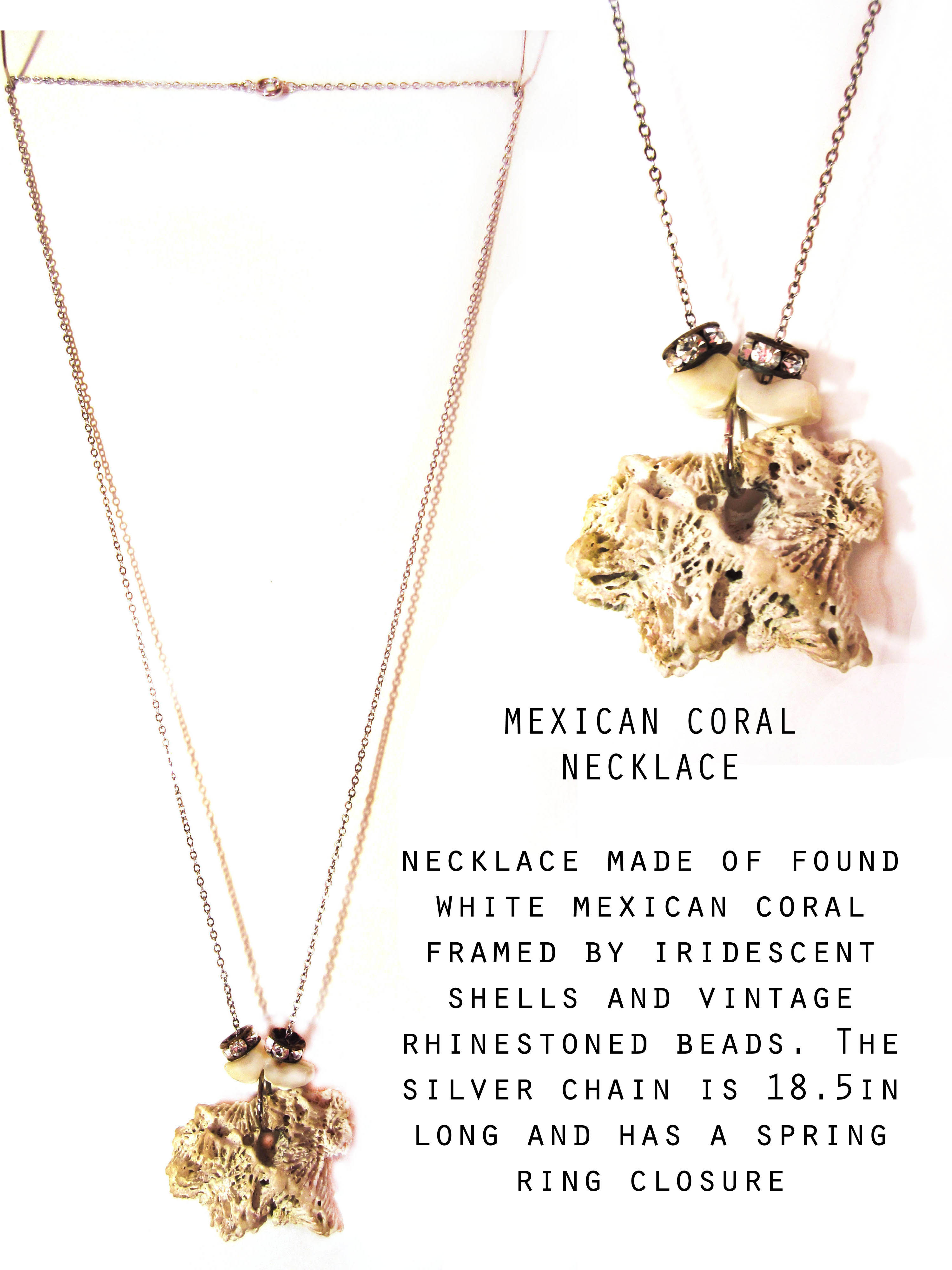 Mexican Coral Necklace