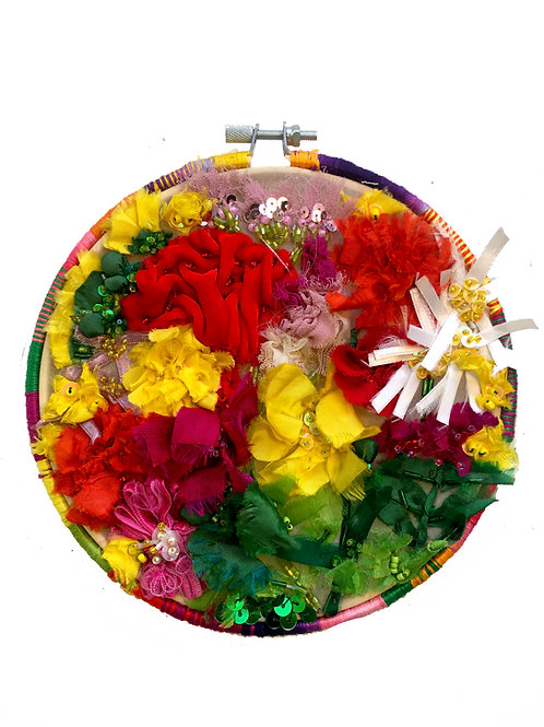 Fabric Bouquet Fabric Sculpture
