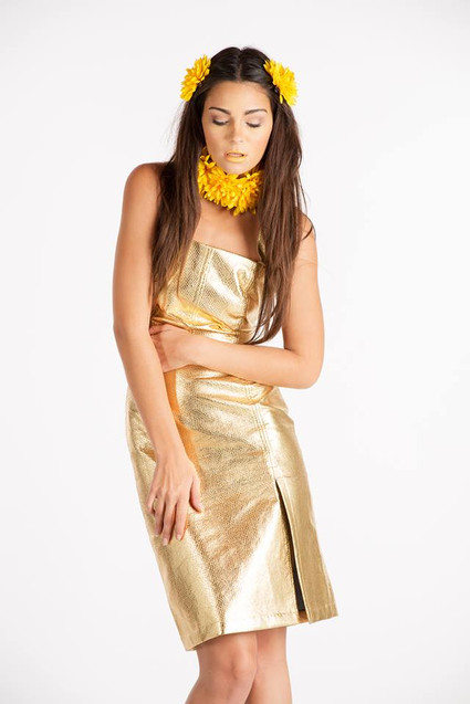 gold outfit yellow floral headpiece.jpg