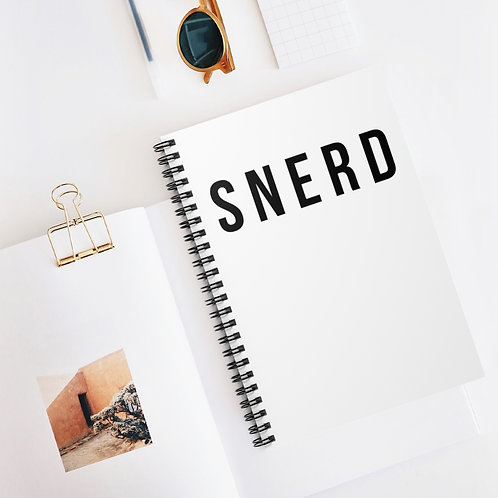 SNERD Spiral Notebook - Ruled Line