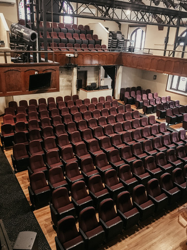 Theatre Post renovation