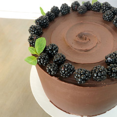 Chocolate Blackberry Mascarpone