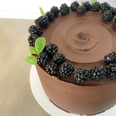 Chocolate Blackberry Mascarpone