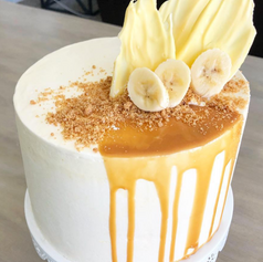 Banana Cream Pie Cake