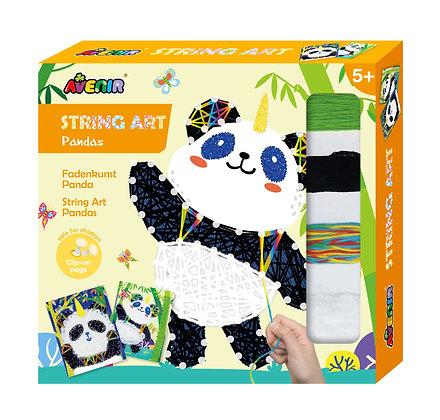 String Art Panda