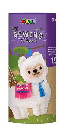 Sewing Keychain Llama