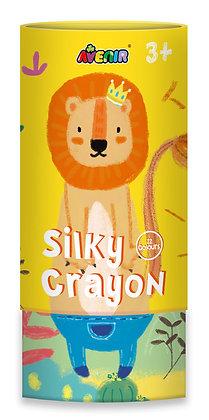 Silky Crayon Lion