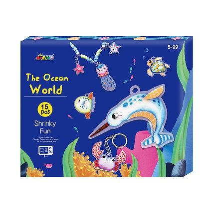 Shrinky Fun Ocean World Gift Box