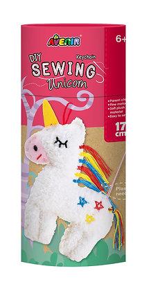 Sewing Keychain Unicorn